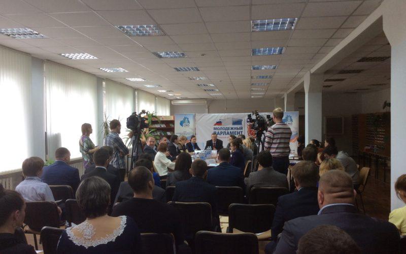 Депутаты Тульской обласной Думы встретились с молодыми депутатами представительных органов муниципальных образований