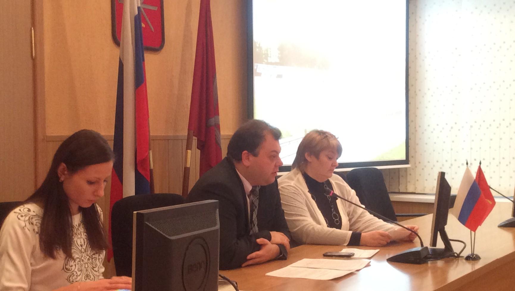 Заседание координационного Совета ТОС в городе Туле