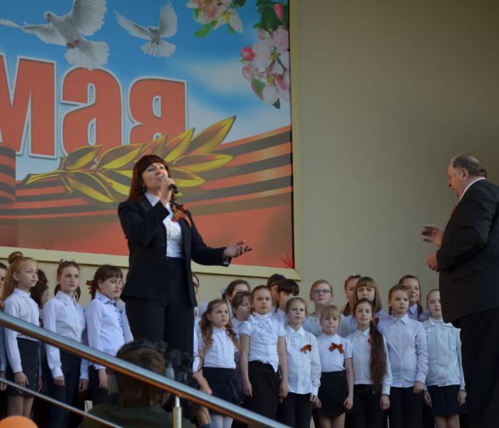 Победы песни поем все вместе