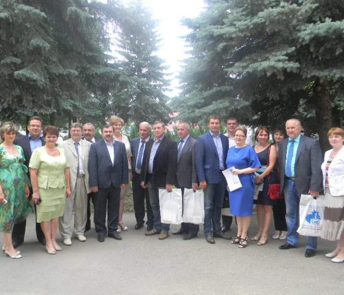 Встреча делегации из Брянской области