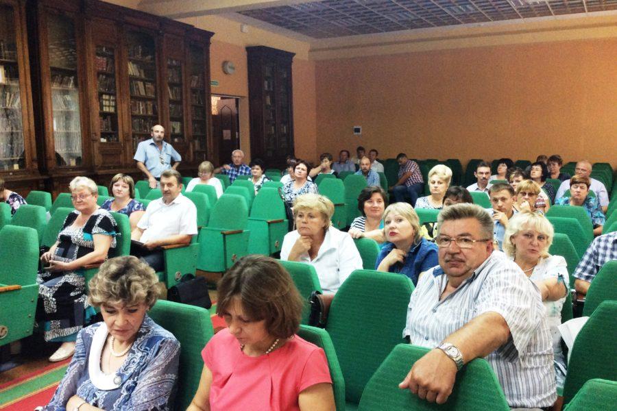 Семинар-совещание с главами администраций и главами сельских поселений муниципальных образований Тульской области