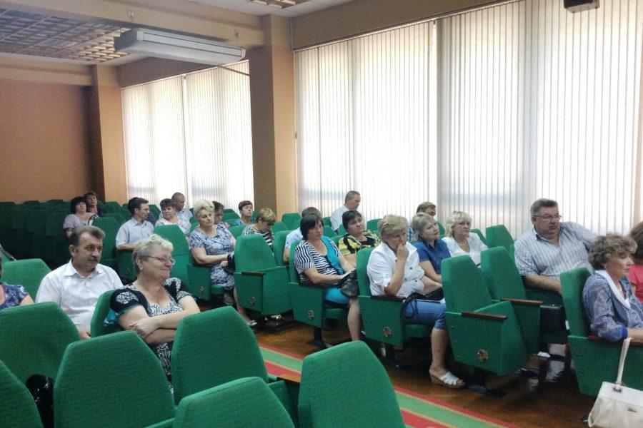 Заседание Палаты сельских поселений Совета муниципальных образований Тульской области