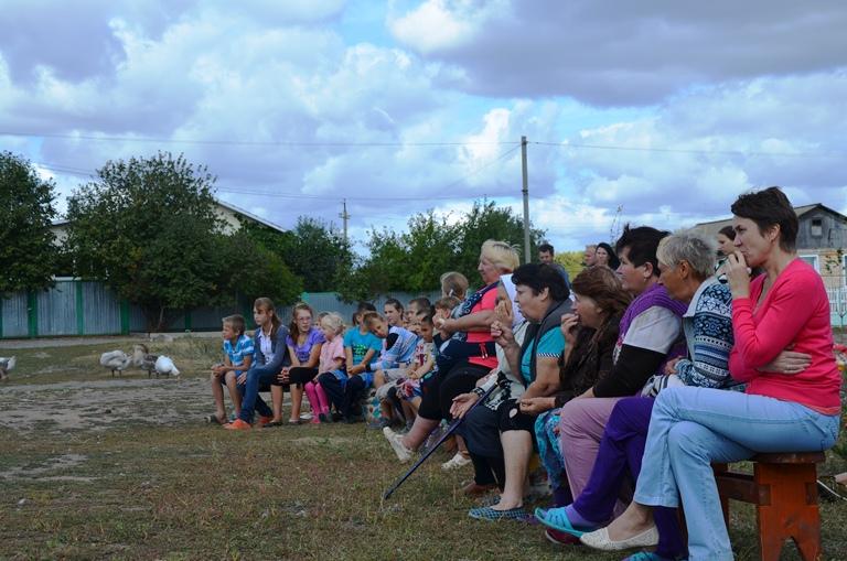 Посещение Чернского района