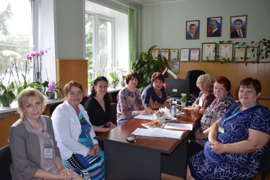 Посещение Плавского района