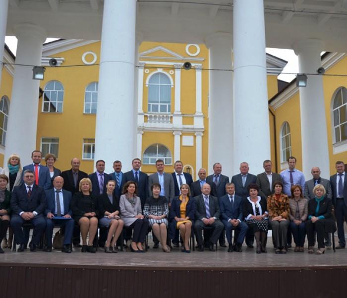 Семинар-совещание с главами администраций и главами муниципальных районов и городских округов Тульской области