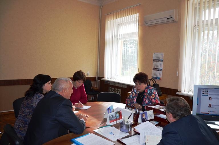 Посещение Арсеньевского района