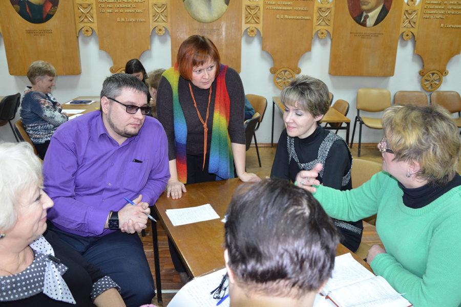 Состоялось второе занятие обучающего семинара по программе «Тренинг публичной речи»