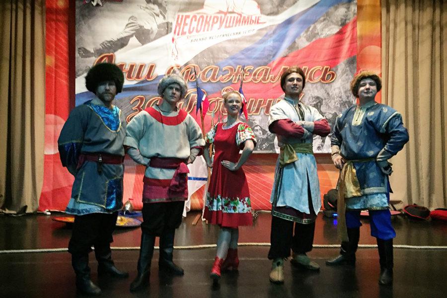 Военно – исторический театр в рамках проекта «Содружество».