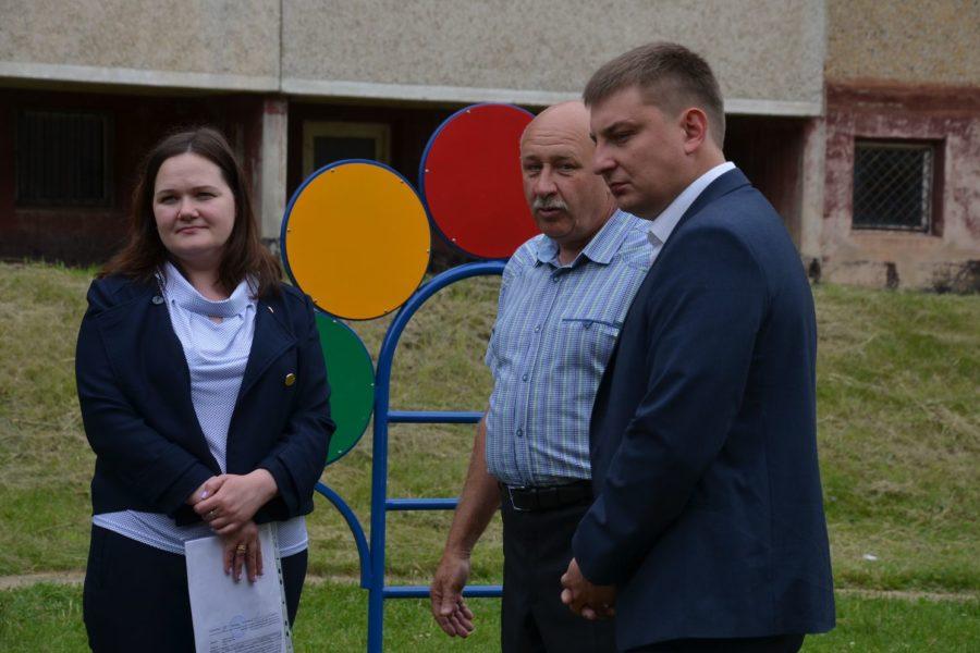 Новая площадка для детей города Ефремова