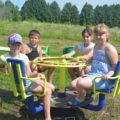 Ради детей: В Щекинском районе установили новые площадки, выигранные в конкурсе благоустройства