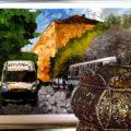 Победители конкурса поделок из природного материала и вторичного сырья «Красота вокруг нас»  экологического марафона «Это наша с тобою Земля»