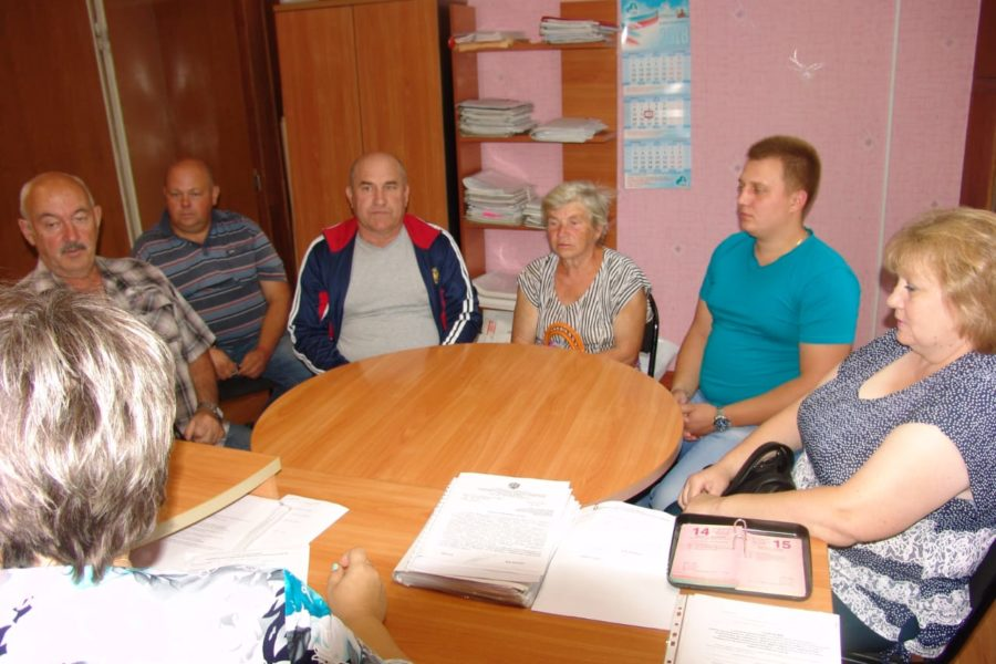 Обсуждение проектов развития территории на встречах  с сельскими старостами