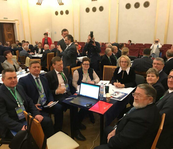 Съезд Конгресса 7-8 февраля: новый формат работы. Муниципалы обсуждают реализацию майского Указа Президента РФ