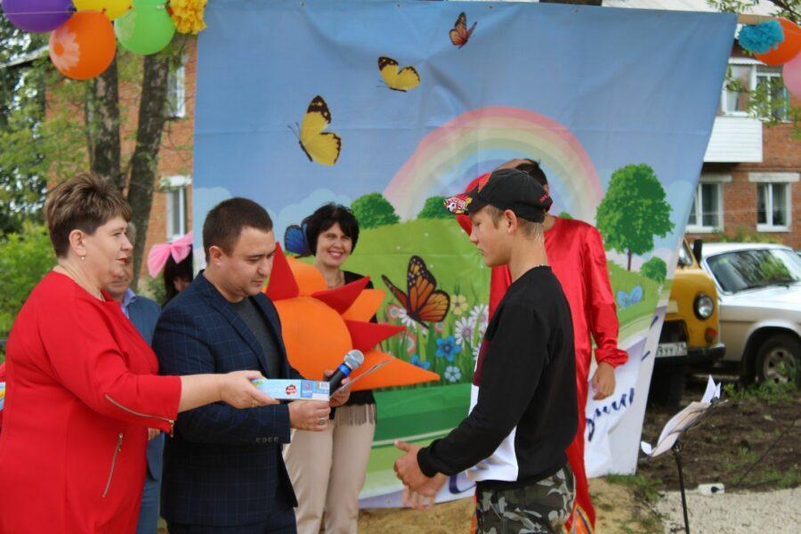 Открытие площадки в п. Красный Яр Киреевского района