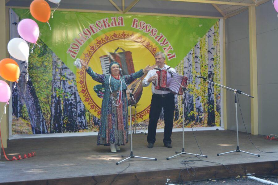 Открытие сценического пространства  в с.Ломовка Богородицкого района