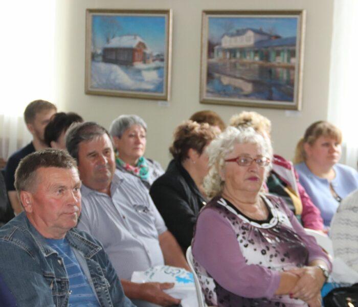 Встречи с сельскими старостами и руководителями ТОС