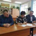 В поселке Центральном Тепло-Огаревского района приняты работы по установке спортивной площадки