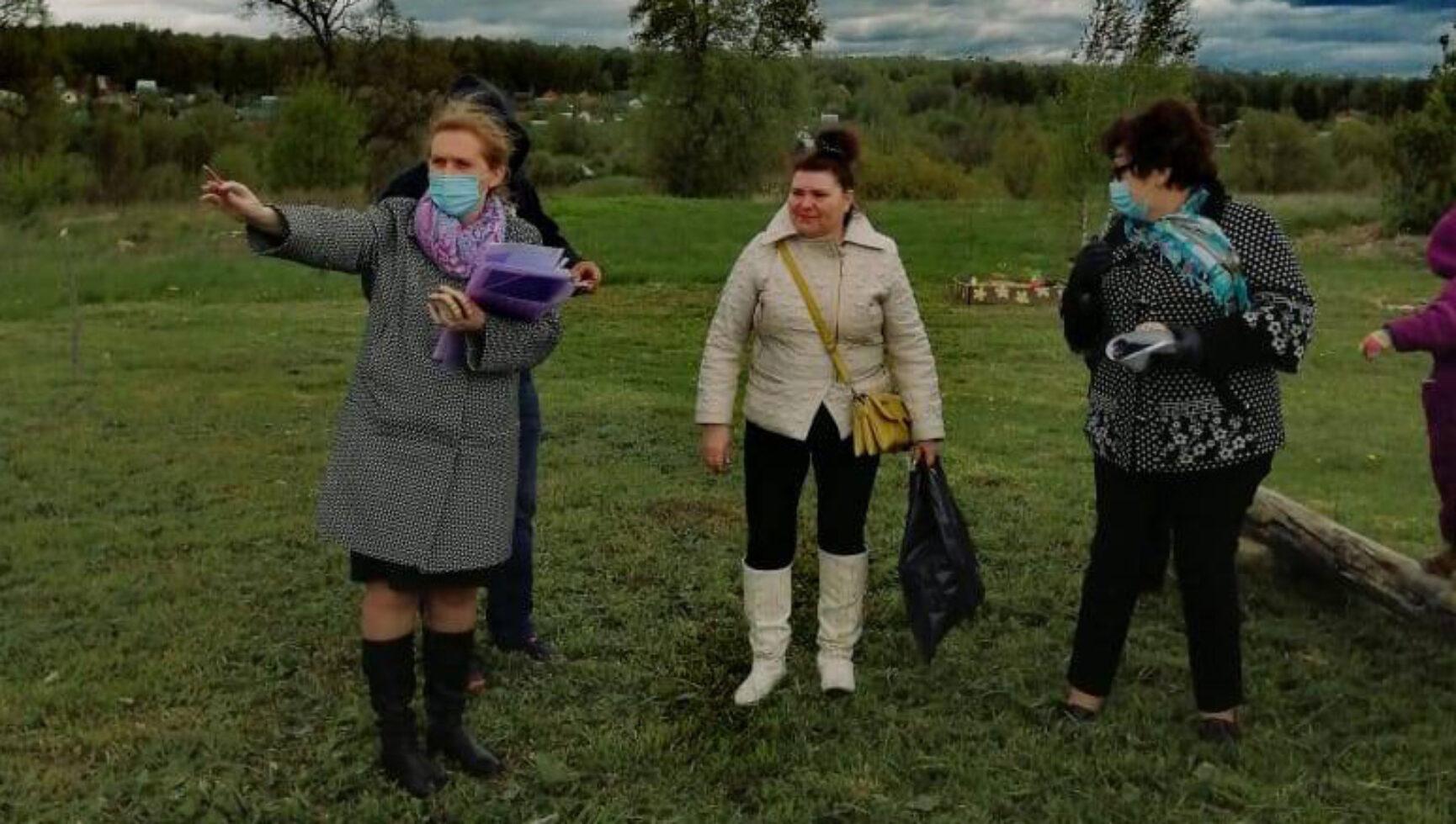 Проект старосты деревни Оленино «Процветай, родимый край!»