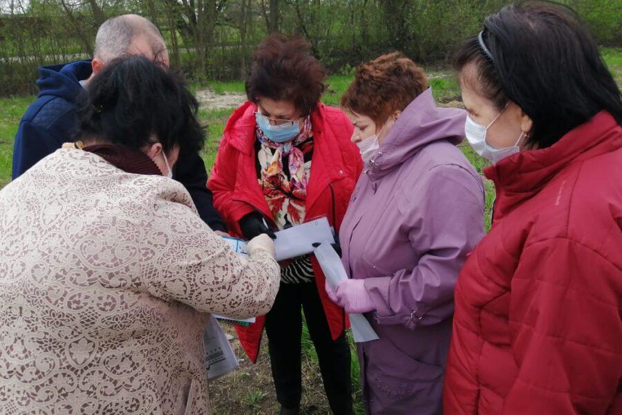 В поселке Пронь Кимовского района обустроят Аллею Памяти