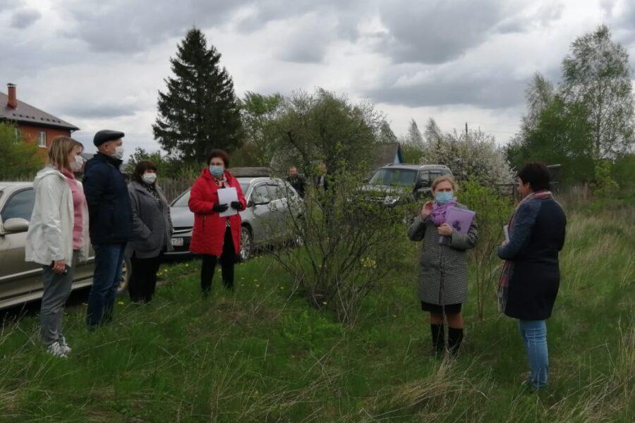 По инициативе сельского старосты в деревне Задонщино Кимовского района появится зона отдыха