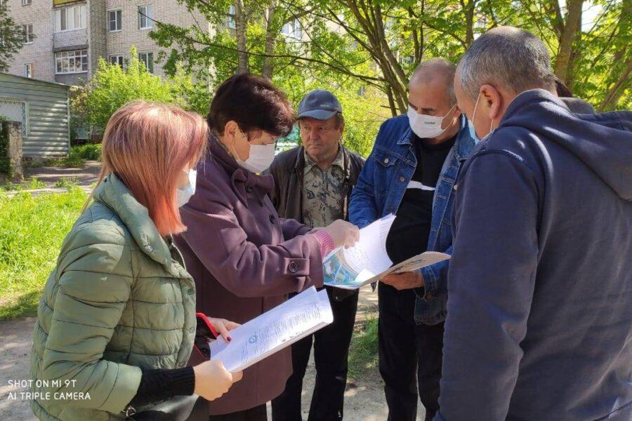 В микрорайоне «Бор» в Алексине появится новая спортивная площадка