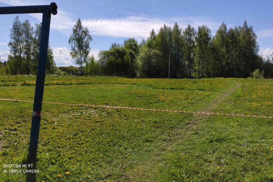 Стадион поселка Головеньковский в Щекинском районе получит вторую жизнь