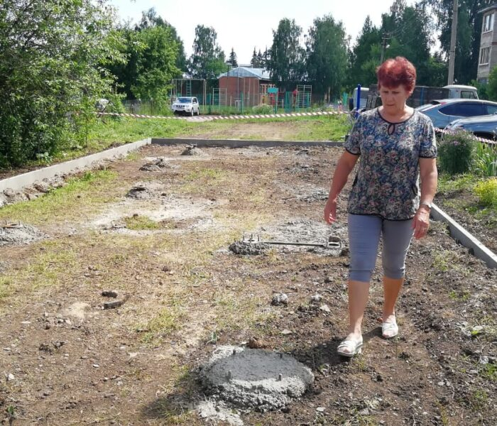 Уже этим летом жители села Ненашево смогут заниматься спортом на современной тренажерной площадке