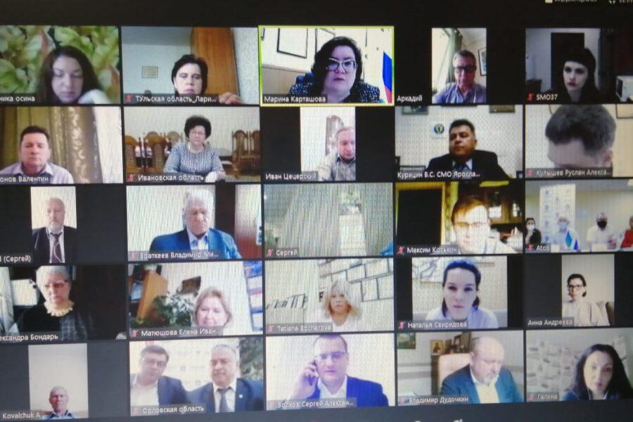 Правление Всероссийской ассоциации развития местного самоуправления провело рабочее совещание
