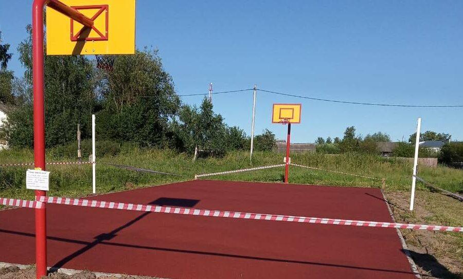 Продолжается благоустройство территории в с.Поповка Алексинского района