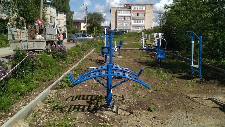 В селе Ненашево Заокского района работы по проекту ТОС «Радуга» движутся к завершению!