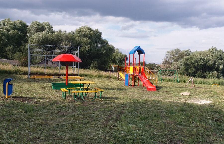 Село Исаково Веневского района украсит площадка для досуга и отдыха
