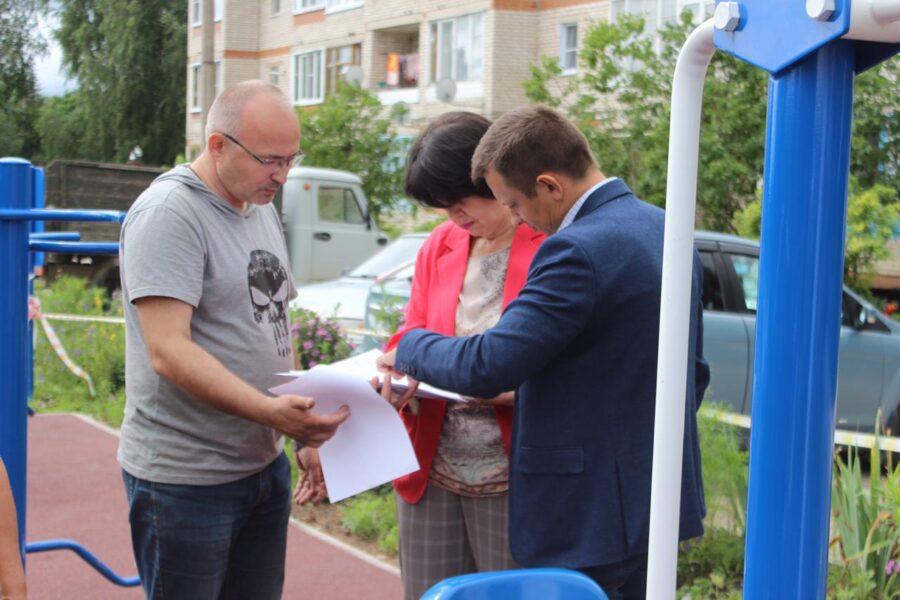Жители села Ненашево Заокского района будут укреплять здоровье на новой спортивной площадке