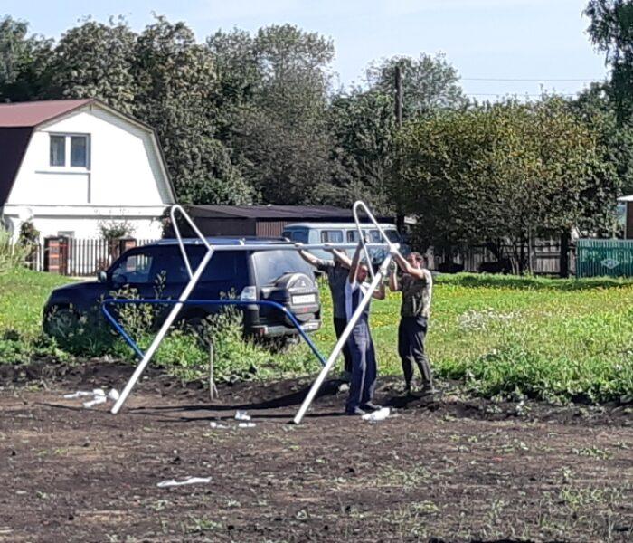 В деревне Подиваньково Щекинского района обустраивают «Территорию радости»