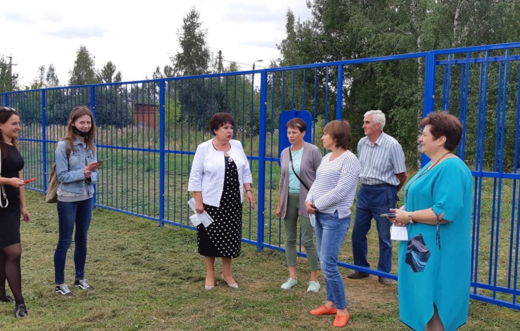 Дети поселка Головеньковский Щекинского района будут заниматься спортом на обновленном стадионе