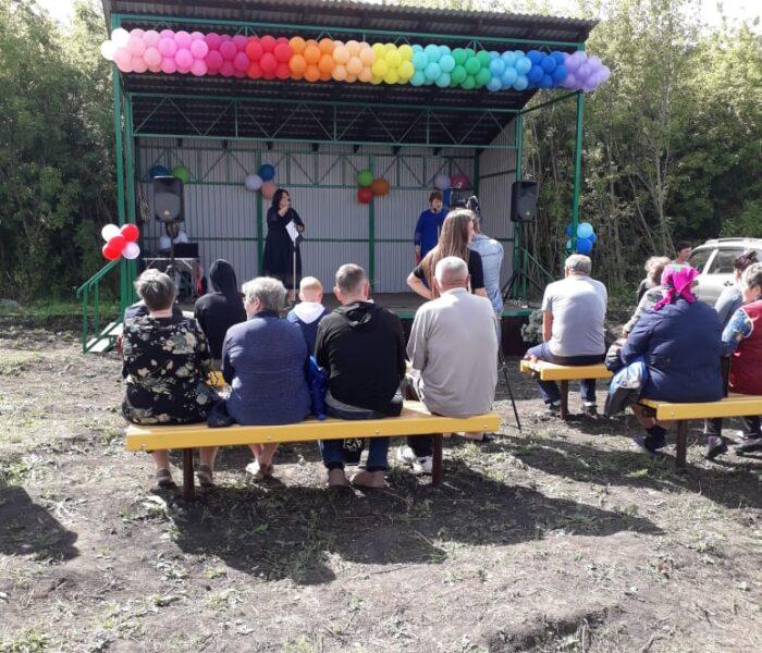 В деревне Задонщино Кимовского района состоялся праздник в честь открытия комплексной зоны отдыха
