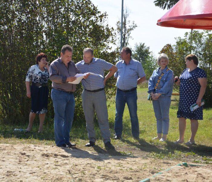 Парк «Рябинушка» станет центром притяжения жителей поселка Степной Чернского района