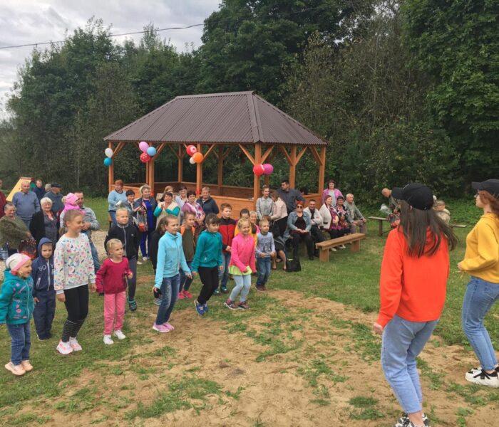 В Суворовском селе Богданово прошёл праздник в честь открытия комплексной зоны отдыха