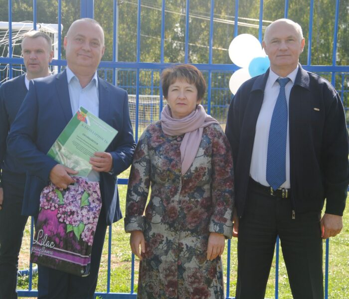 Стадион поселка Головеньковский Щекинского района получил вторую жизнь