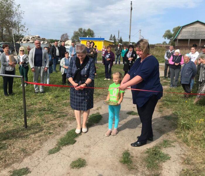 В деревне Бураково состоялся праздник в честь открытия спортплощадки «Территория здоровья»