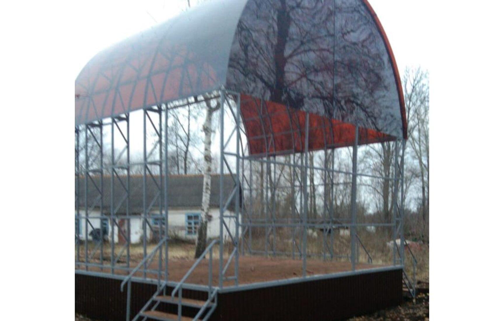 В поселке Товарковский Богородицкого района завершены работы по реализации проекта «Славе – не меркнуть. Традициям – жить!»