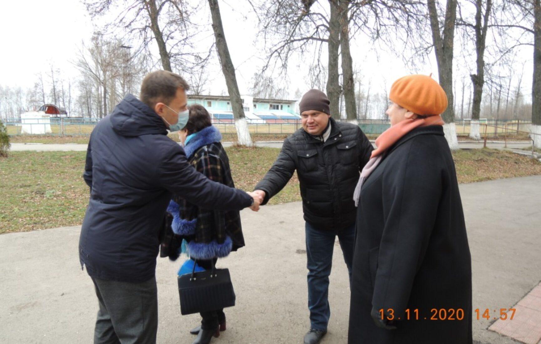 В поселке Товарковский Богородицкого района обустроена новая сцена